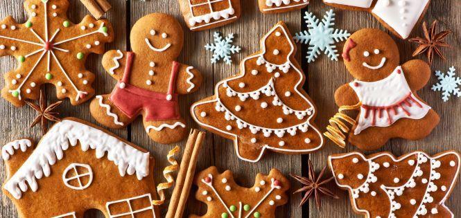 Имбирное печенье: Готовим и расписываем