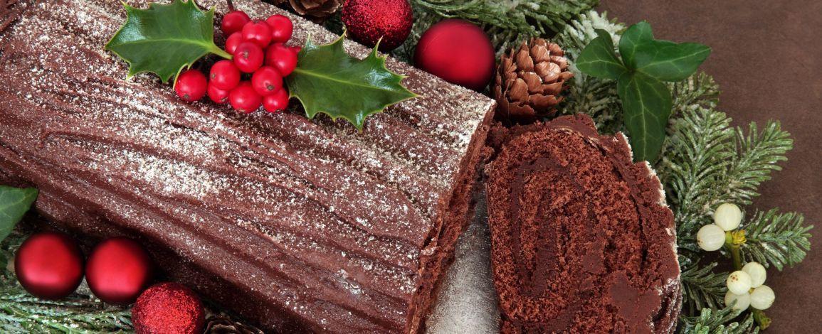 Рецепт: Різдвяне поліно