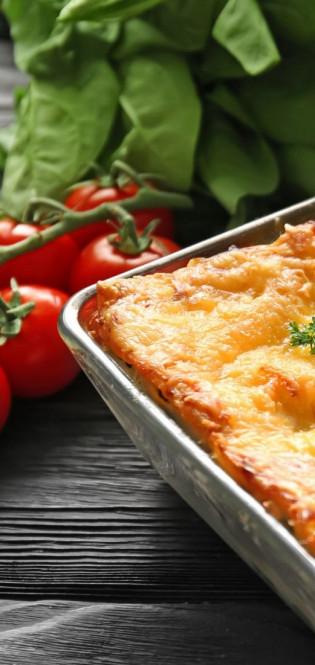 Рецепт від Анни Саліванчук: м'ясна лазанья