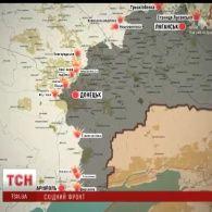 Під ворожий вогонь на Донецькому напрямку потрапили ще 5 населених пунктів