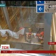 У Європарламенті під час бійки з вікна випав британський депутат