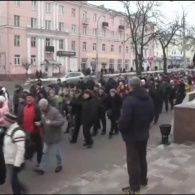 Білоруси протестують проти штрафів у 200 доларів за безробіття