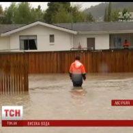 Через повінь на півдні Австралії рятувальники проводять евакуацію місцевого населення