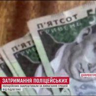 На Дніпропетровщині заарештували начальника сектору поліції та його поплічника