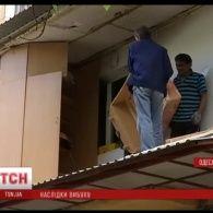 Вибух в одеській багатоповерхівці кваліфікували як порушення правил пожежної безпеки