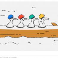 Google відзначив 15-й день Олімпійських ігор Дудлом з качками