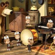 Маша и Медведь 1 сезон 19 серия. Репетиция оркестра