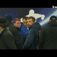 Ультрас Динамо зустрілись із гравцями після матчу із Зорею