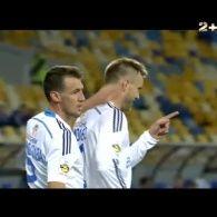 """""""Динамо"""" впевнено перемагає """"Волинь"""" з рахунком 3:0"""