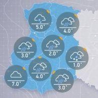 Прогноз погоды на четверг, 13 октября