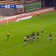 Зоря - Чорноморець - 3:0. Відео голу Гречишкіна