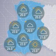 Прогноз погоди на п'ятницю, вечір 7 липня