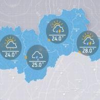 Прогноз погоди на середу, вечір 26 липня