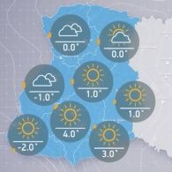 Прогноз погоди на четвер, 29 грудня