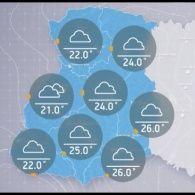 Прогноз погоди на понеділок, 5 вересня