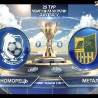 Матч ЧУ 2015/2016 - Чорноморець - Металіст - 0:1