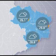 Прогноз погоди на вівторок, 22 серпня