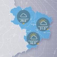Прогноз погоди на середу, 26 липня