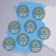 Прогноз погоди на понеділок, ранок 12 вересня