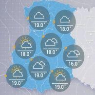 Прогноз погоди на понеділок, ранок 4 липня