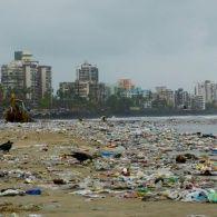 В Індії чоловік організував прибирання найзабрудненішого пляжу