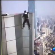Відомий Китайський руфер зняв на відео свою смерть