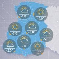 Прогноз погоди на понеділок, ранок 5 грудня