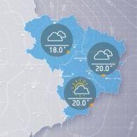 Прогноз погоди на вівторок, ранок 4 жовтня