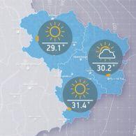 Прогноз погоди на понеділок, вечір 18 вересня