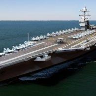 США взяли на озброєння найдорожчий у світі авіаносець