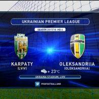 Карпати - Олександрія - 0:0. Відео матчу