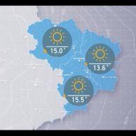 Прогноз погоди на вівторок, середу 18 жовтня