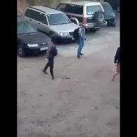 З'явилося відео розгону ромського табору на Лисій горі