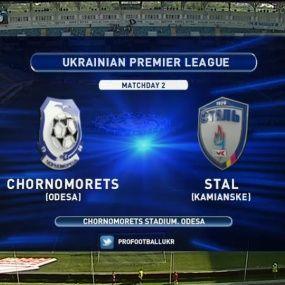Матч ЧУ 2017/2018 - Чорноморець - Сталь - 0:1.