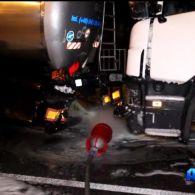 Масштабна аварія за участю трьох вантажівок у Дніпрі