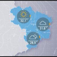 Прогноз погоди на суботу, 19 серпня