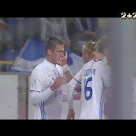 Дніпро - Динамо - 0:1. Відео голу Бєсєдіна
