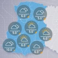 Прогноз погоди на середу, ранок 19 жовтня