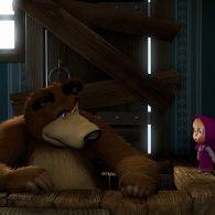 Маша и Медведь 1 сезон 2 серия. До весны не будить!