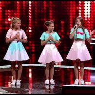 Девочки из трио Smile подготовили подарок для MONATIK – Голос. Дети
