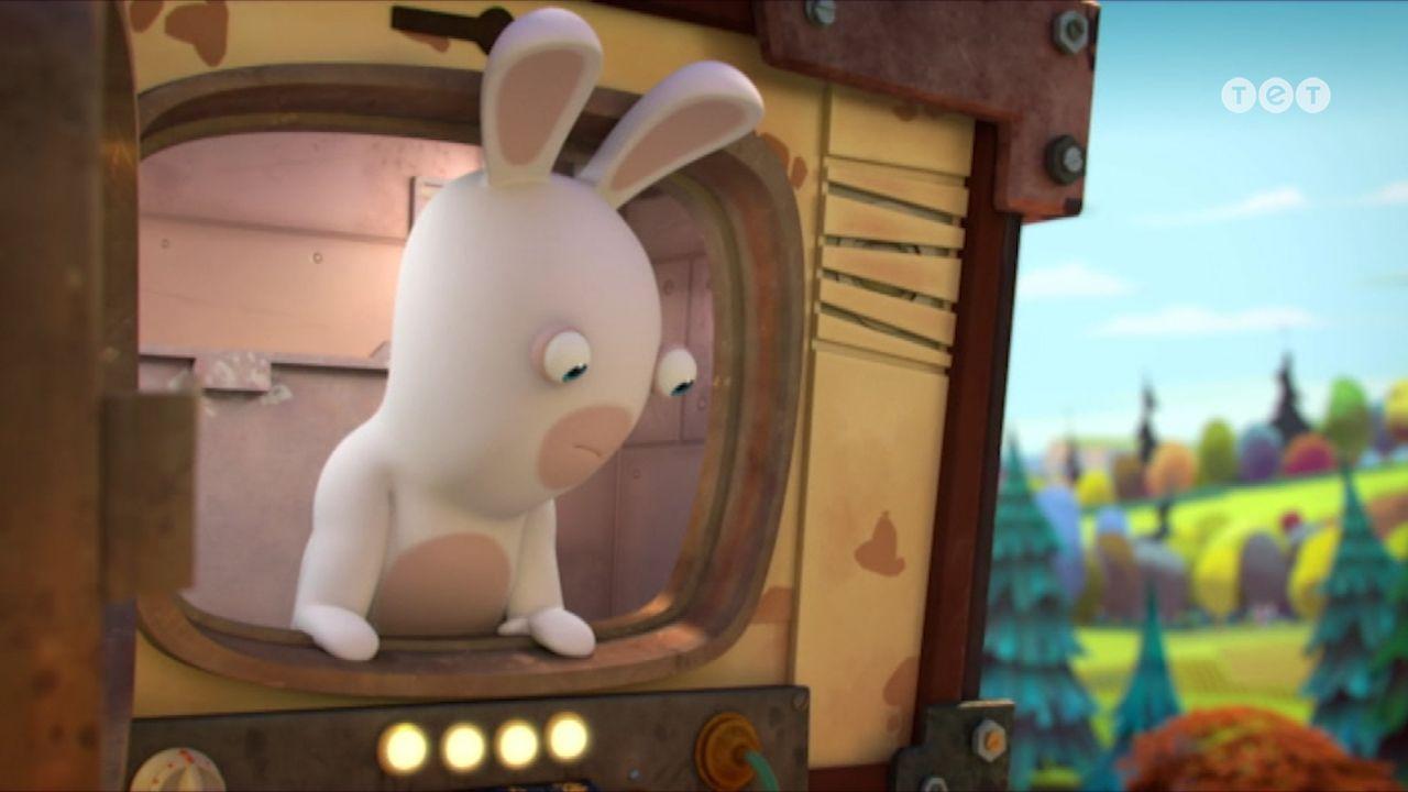 Телепортокролики - Шалені кролики: Вторгнення. 184 серія