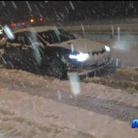 Київ паралізовано через снігопад