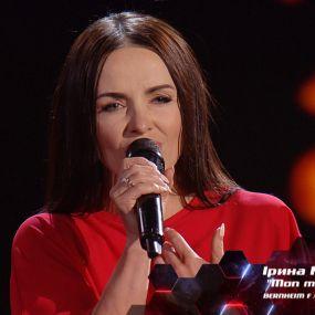 """Ірина Мерлені – """"Mon mec a moi"""" – вибір наосліп – Голос країни 8 сезон"""