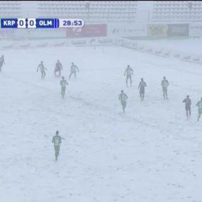 Матч ЧУ 2017/2018 - Карпати - Олімпік - 1:1.