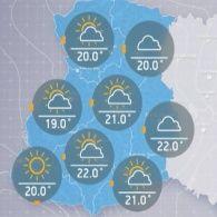 Прогноз погоди на середу, ранок 26 липня