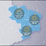 Прогноз погоди на вівторок, вечір 19 вересня
