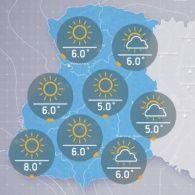 Прогноз погоды на пятницу, утро 28 октября