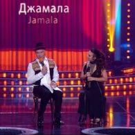 Джамала на сербском телевидении. Вечерний Квартал