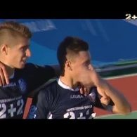 Волинь - Чорноморець. 0:1. Відео голу Кабаєва