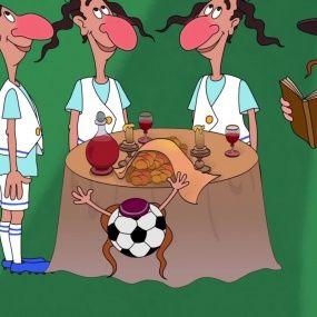 Козаки. Футбол - Ізраїль - Нові серії 2016 року - Український мультфільм